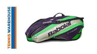 Babolat Pure Strike Wimbledon Racket Holder x 6 video