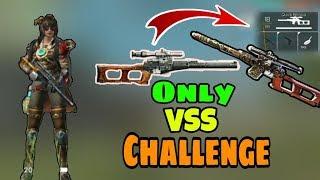 Only VSS Challenge || Garena Free Fire || Desi Gamers ( Hindi )