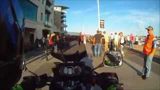 preview picture of video 'Poole Quay Bike Night 2014'