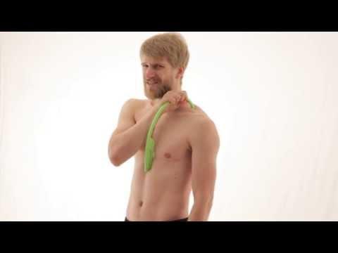 Schmerzen unter dem rechten Schulterblatt von hinten, zu entfernen