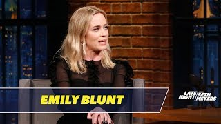 Emily Blunt Reveals Who Told Her She Has a Resting Bitch Face - Video Youtube