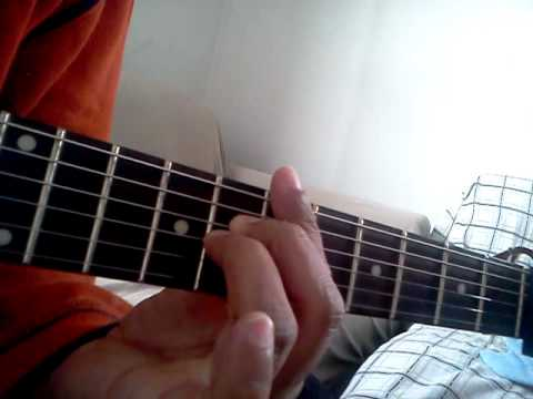 Bbmaj7 Guitar Chord
