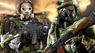 МОНОЛИТ VS ВОЕННЫЕ. STALKER Call of Chernobyl КОРОЛЕВСКАЯ БИТВА #3
