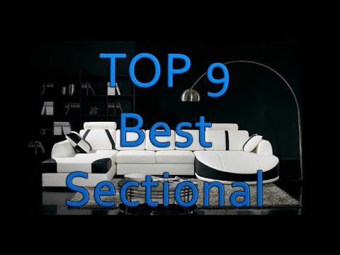 Top 9 Best Sectional Sofa For The Money  Reviews
