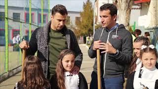 Lorik Cana Dhe Veliaj Mbjellin Pemë Me Nxënësit: Investim Për Gjeneratat E Tjera