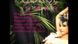 Gökçe - Tık Tak (lyrics)