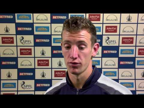 PREVIEW: Aaron Muirhead - Pre Brechin City