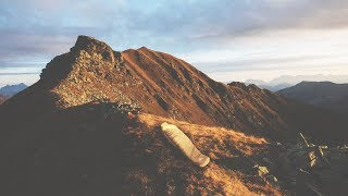 I Spent the Night on Top of a Mountain and It Was Crazy (Sleep on a Mountain Challenge)