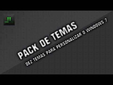 Pack com 10 Temas para Windows 7