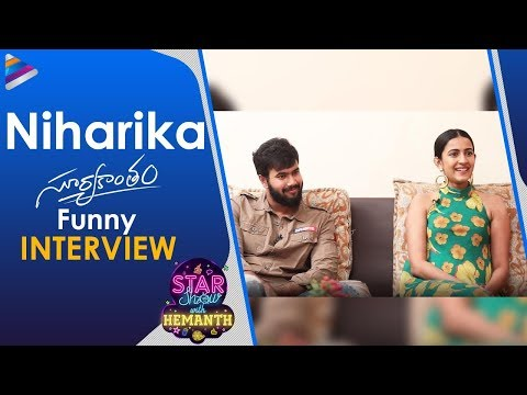 Niharika Konidela & Rahul Vijay FUNNY Interview