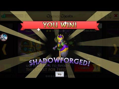 Knights And Dragons ~ Unlocking Shadowforged Armor!! Dragon Key chest opening!
