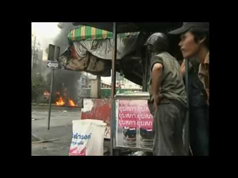 Bangkok Riots - up to 40 deaths Thailand May 2010