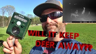 A GADGET THAT WILL KEEP DEER OUT OF YOUR GARDEN!! IT ACTUALLY WORKS!!