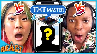 Who Can Get The MOST FAMOUS Person On A Zoom Call | TXT Master Ep. #1