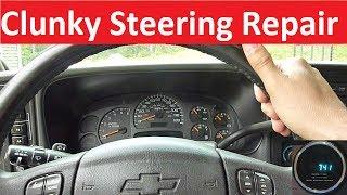 Chevy/GMCTruckSteeringShaftandSteeringBearingReplacementGMT-800-Detailed
