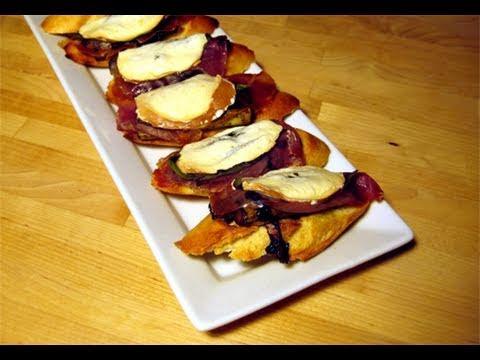 """Asparagus & Prosciutto Bruschetta Recipe – Laura Vitale """"Laura In The Kitchen"""" Episode 21"""