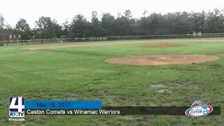 Caston Baseball @ Winamac - Broadcast interrupted due to weather
