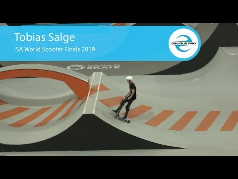 Tobias Salge - ISA Men's World Scooter Semi Finals 2019