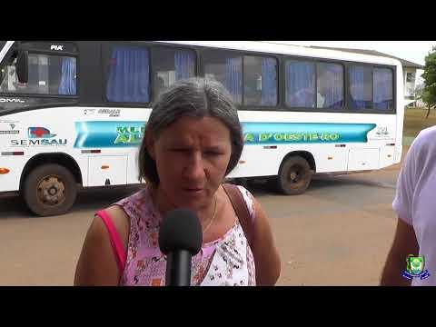 maradora fala sobre trasporte de pacientes para fora do município