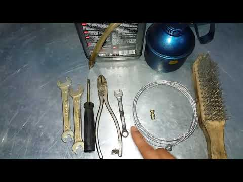 herramientas para cambiar cable de embrague de una mototaxi tvs