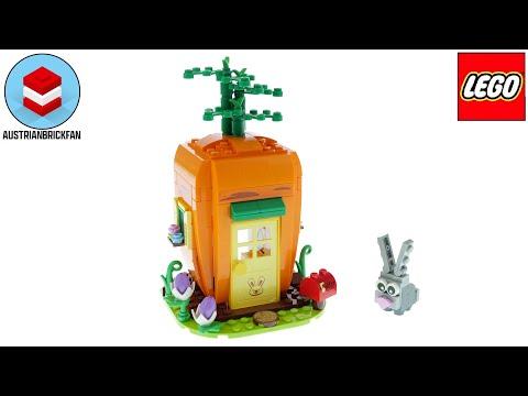 Vidéo LEGO Saisonnier 40449 : La maison carotte du lapin de Pâques