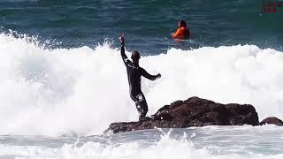 【サーフィン】ボードが顔面直撃 アクシデント集【痛い】
