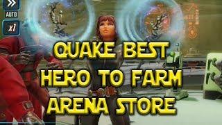 Best Hero To Farm Arena Store - QUAKE | Marvel Strike Force