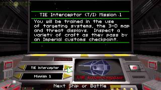 Retro Snack: Star Wars: Tie Fighter (DOS)