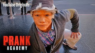 OLD MAN BREAKDANCE PRANK!!! ft. D-TRIX | Prank Academy | Episode 6