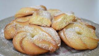 Песочное печенье / Вкусное простое печенье