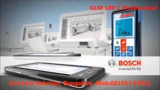 Laser Entfernungsmesser Glm 100 C Professional : Die glm floor plan app von bosch für profis media service