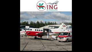 King Air Ambulance Service in Bhubaneswar at Simple Booking Cost