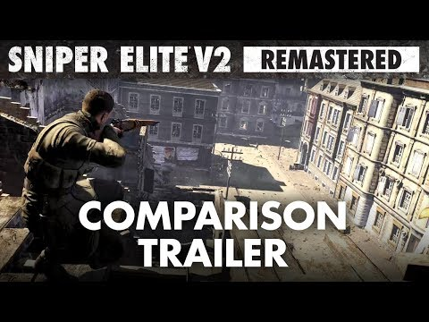 Sniper Elite V2 Remastered – Graphics Comparison Trailer thumbnail