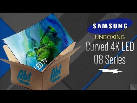 Unboxing: Samsung QN65Q8C 4K QLED Q8C