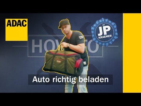 ADAC How To: Auto richtig beladen mit Jean Pierre Kraemer  | ADAC