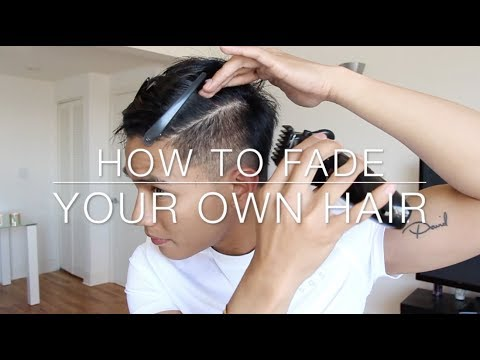 How to Cut Your Own Hair | Fade Self-Haircut