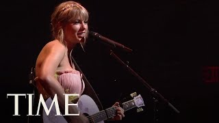 Taylor Swift Performs At The TIME 100 Gala | TIME