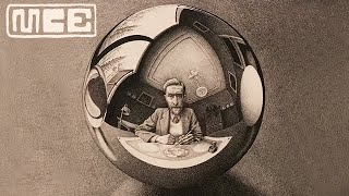 M.C. Escher Drawings at the National Gallery of Victoria
