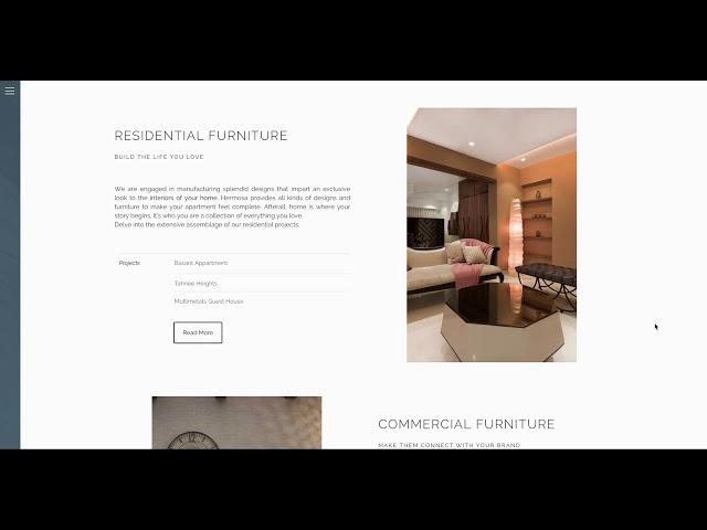Hermosa Website