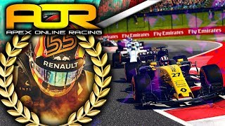 Apex Online Racing F1 2017 Highlights | Round 7 Hungary