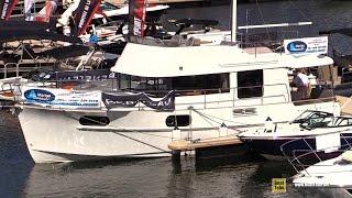 2016 Beneteau Swift Trawler 44 - Walkaround - 2016 Montreal In Water Boat Show