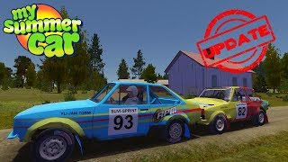 RALLY CARS - NEW VEHICLES IN THE GAME - My Summer Car Update #17