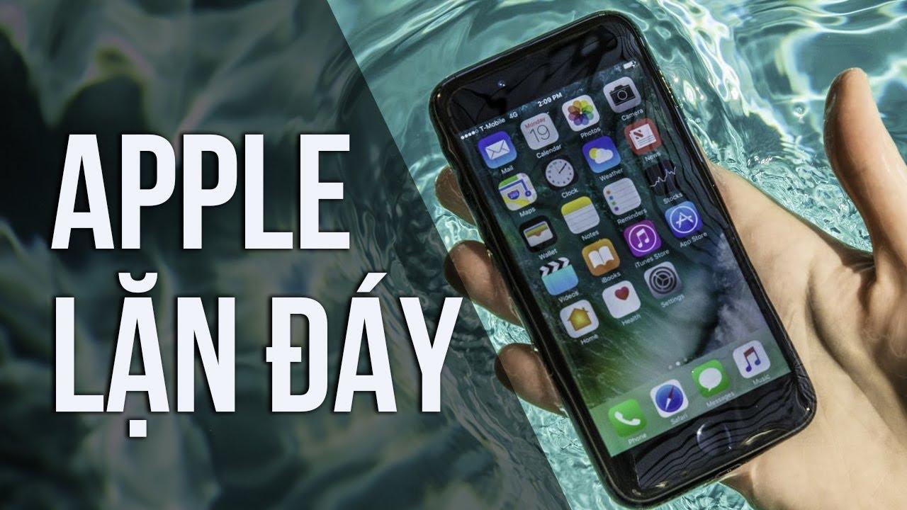 """Apple đang """"lặn đáy"""", vì sao?"""