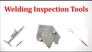 Welding Inspection Tools / Weld Profile Gauge / Fillet Weld Gauge / Hi Lo Gauge