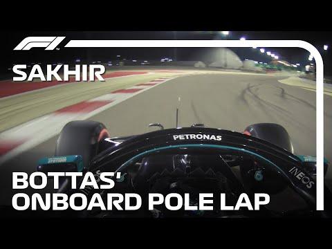 ボッタスがポール・ポジション F1 第16戦サクヒール ポールポジョションで最速の走りをおめたオンボード動画