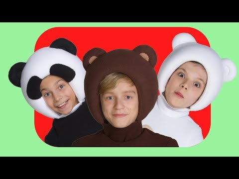 СБОРНИК из 12 детских песен - Три Медведя - Three bear songs - Пук пук, Чух чух, Ням ням