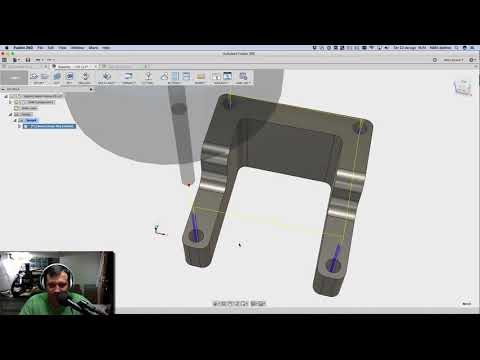 Fusion 360 Tutorial for CAD/CAM then Milling in ChiliPeppr
