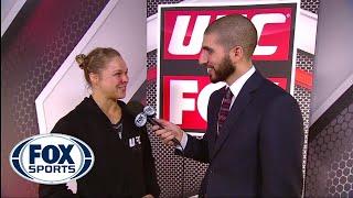 Rousey explains why she skipped handshake