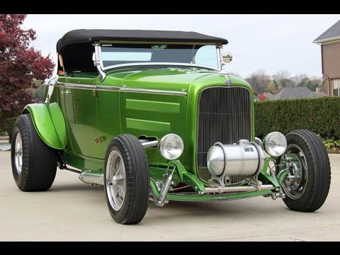 1932 Ford Street Rod For Sale 'Rat Roaster' built by Stacey David