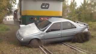 BESIP: Náraz vlaku do auta